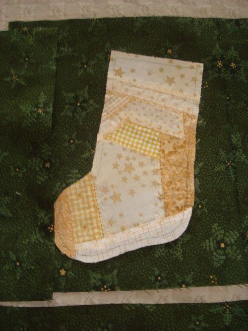 LucyCrazy Patch Stocking