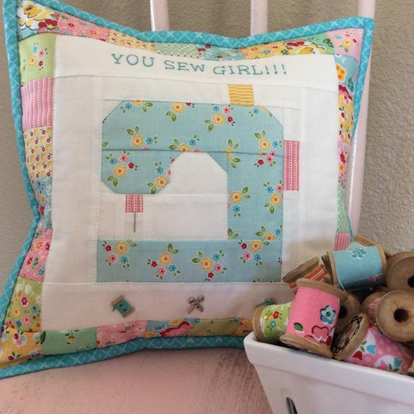 You Sew Girl – Free Pattern - Pink Simplicity