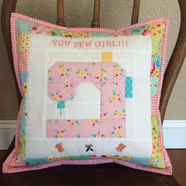You Sew Girl Free Pattern Pink Simplicity